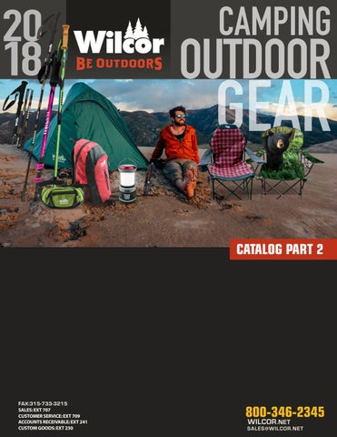c8e7ccec03 Wilcor Camping Outdoor Gear Catalog 2 by Stephen Lisi - issuu