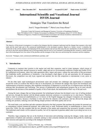 Vol 1 Issue 1 Isvosjournal By Isvos Journal Issuu