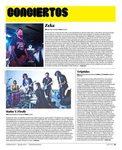 Page 13 of Crónicas de Conciertos