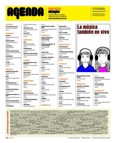 Page 14 of Agenda de Conciertos