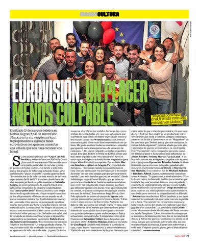Page 7 of Especial Eurovisión 2018