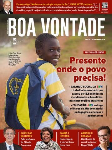 190897312 245 Revista BOA VONTADE by Revista BOA VONTADE - issuu