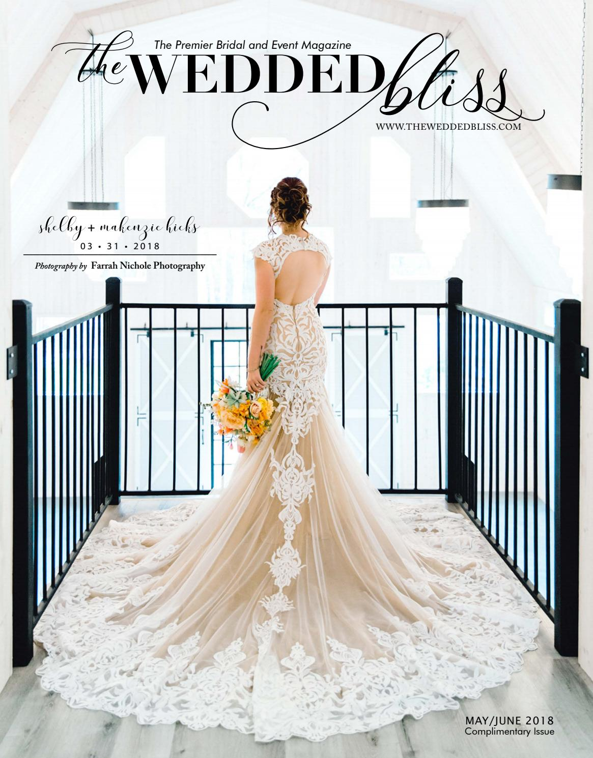 The Wedded Bliss - May/June 2018 by The Wedded Bliss - issuu