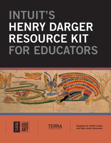 bc9f495164 Henry Darger Resource Kit by Intuit  The Center for Intuitive and ...