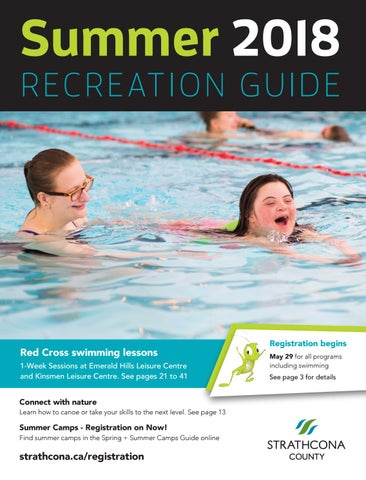 2985339d4229 Strathcona County Summer 2018 Recreation Guide