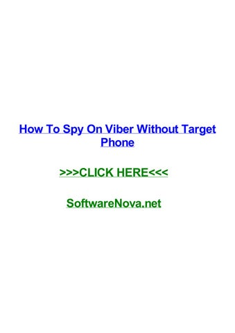 spy text messages viber without target phone