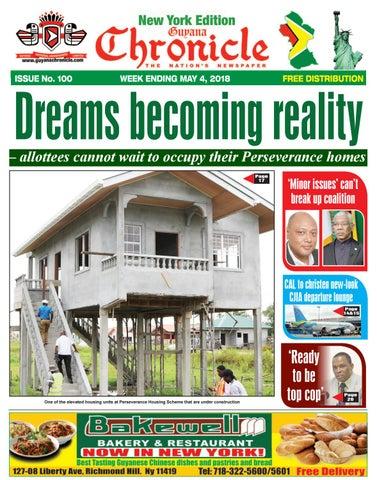 7ad48213 Guyana chronicle ny e paper 05 04 2018 by Guyana Chronicle E-Paper ...