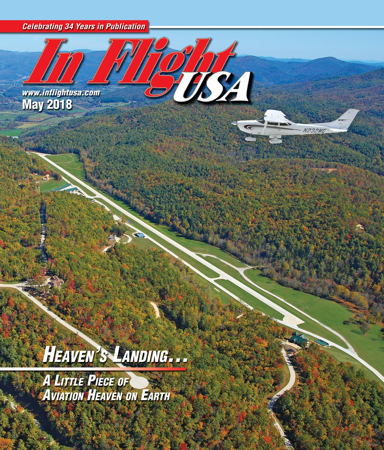 In Flight USA May 2018 by Anne Dobbins - issuu