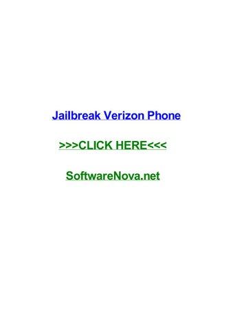Jailbreak verizon phone by candaceggxjd - issuu