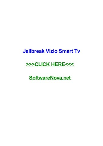 Jailbreak vizio smart tv