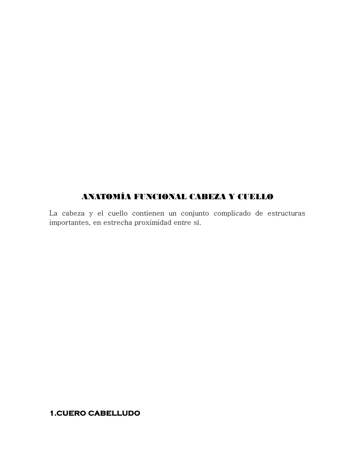 SEMIOLOGIA DE CABEZA Y CUELLO by sandra - issuu