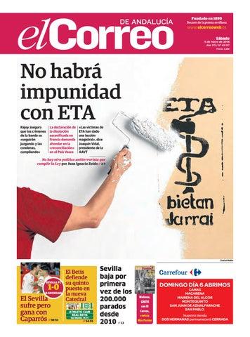 05.05.2018 El Correo de Andalucía by EL CORREO DE ANDALUCÍA S.L. - issuu 23b986261cdf