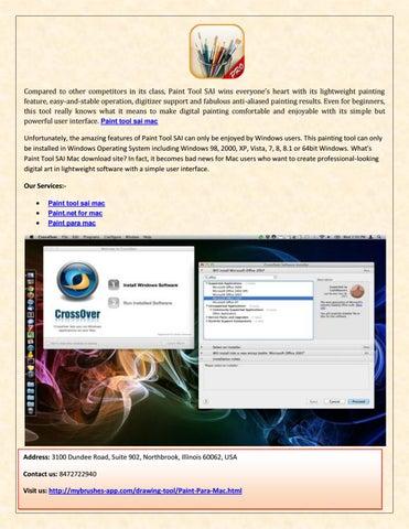 Paint tool sai mac alternative free download by mybrushes