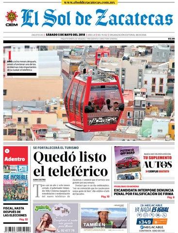 136c2a78f0c85 El Sol de Zacatecas 12 de mayo 2018 by El Sol de Zacatecas - issuu