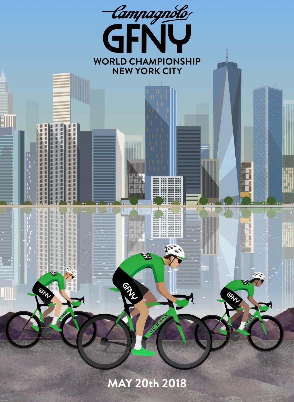 Campagnolo GFNY World Championship NYC 2018 & GFNY World by