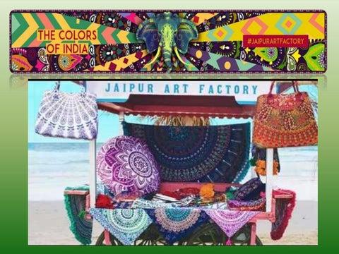 Ancient Mandala Tapestry Style Home Decor Art Jaipur Art Factory