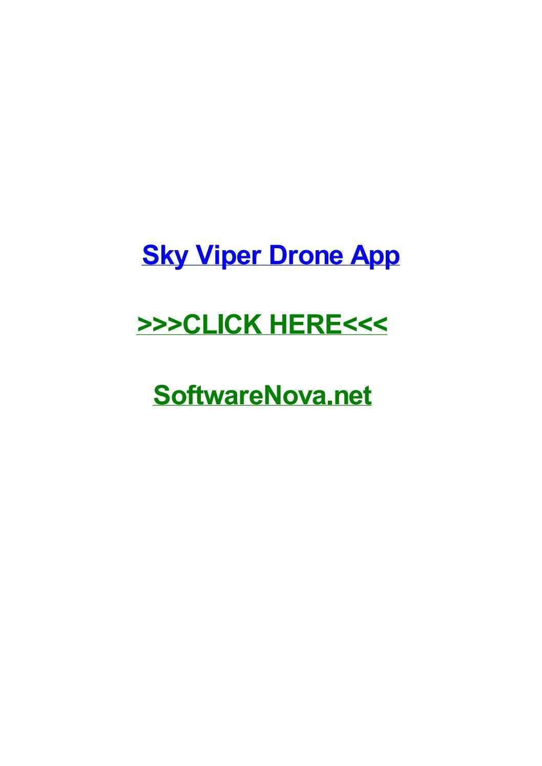 Sky Viper App >> Sky Viper Drone App By Loriaofo Issuu