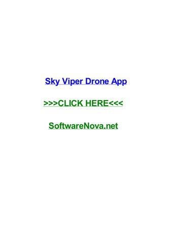 Sky Viper App >> Sky Viper Drone App By Loriaofo Issuu