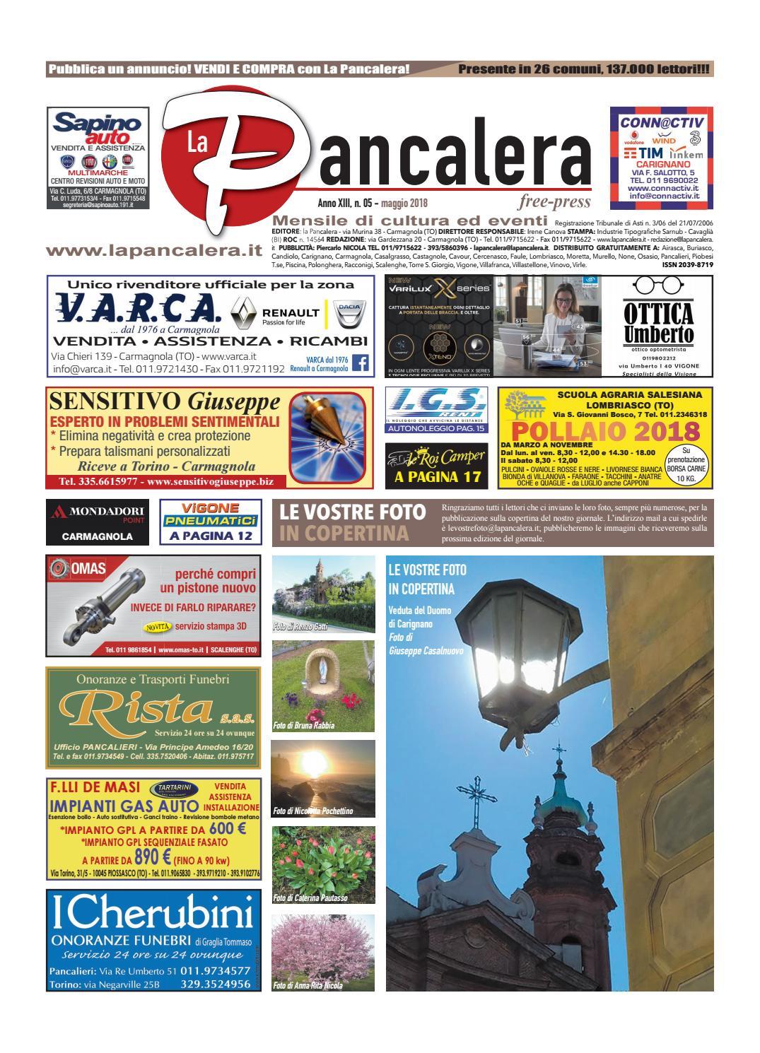 60a0feb9a9806 La pancalera maggio 2018 by la Pancalera - issuu