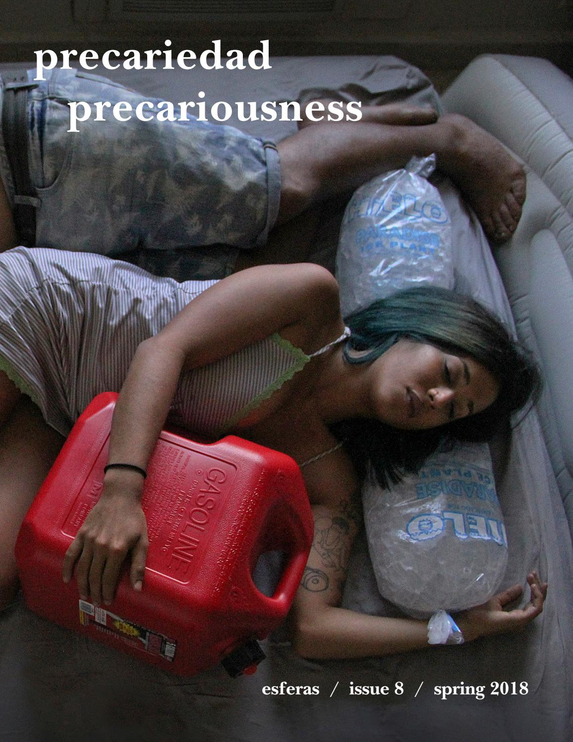 afc22d2caab6 Esferas 8: Precariedad/Precariousness by NYU Esferas - issuu
