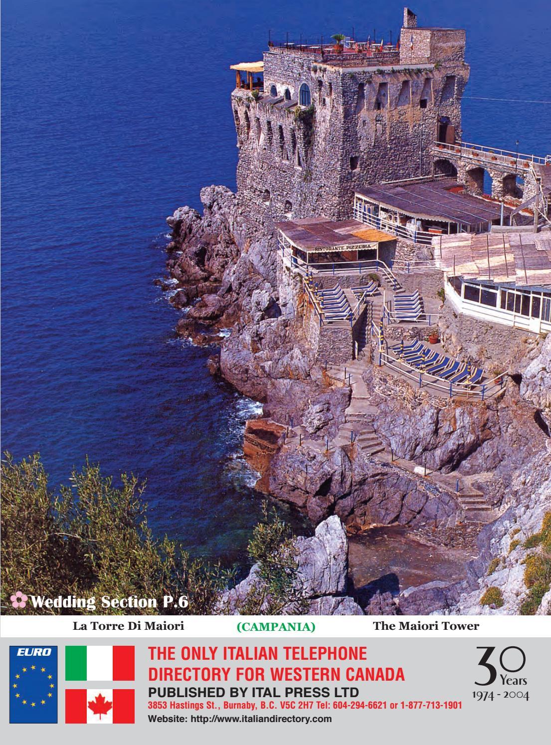 2004 Italian Directory Alberta Edition By Italian