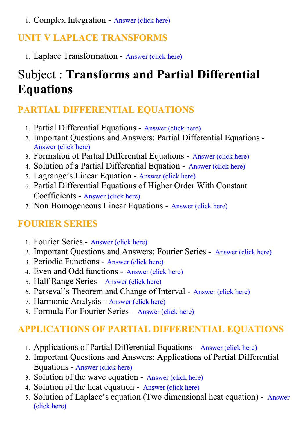CSE Computer Science Engineering - Lecture Notes, Study Materials