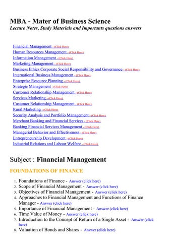 Human Resource Management Questions With Answers