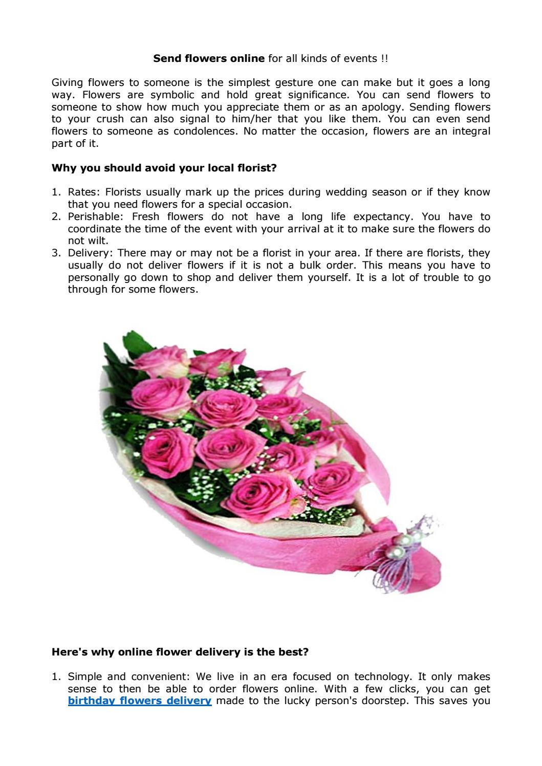 Send flowers online for all kinds of events by phoolwala issuu izmirmasajfo