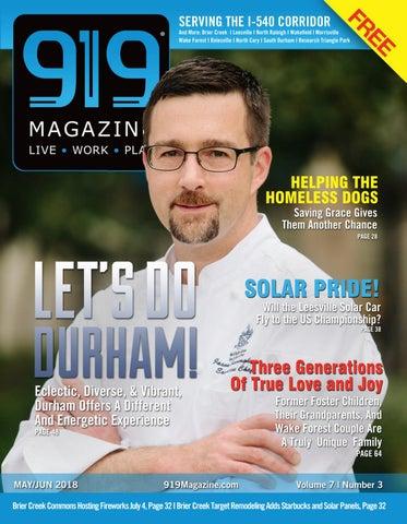 919 Magazine May/June 2018 by 919 Magazine - issuu