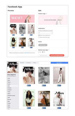 Page 13 of Adding the Issuu Facebook App