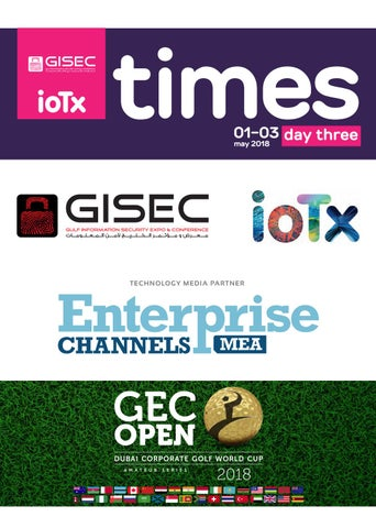 GISEC Day 3 2018 by GEC Media Group - issuu
