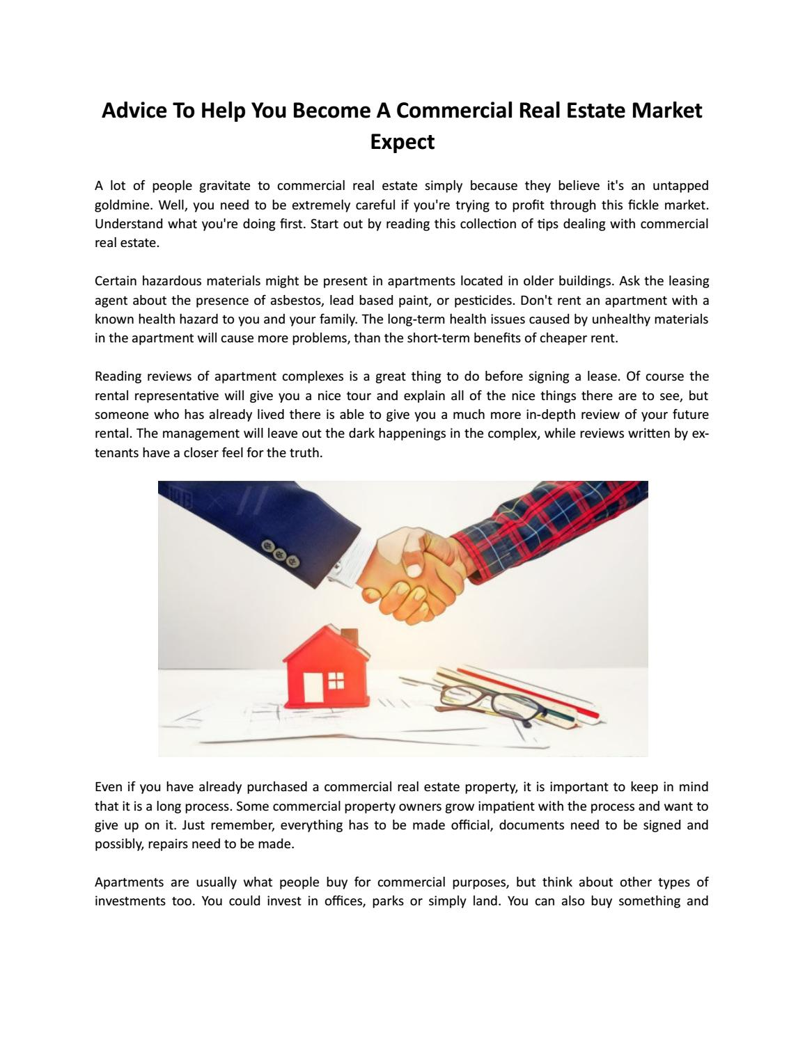 foto How to Become a Commercial Real Estate Appraiser