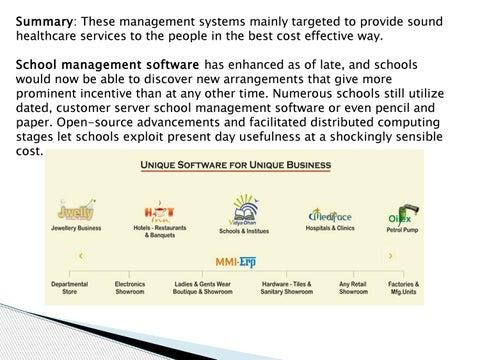 Restaurant management software in india by mmisoftwaresuae