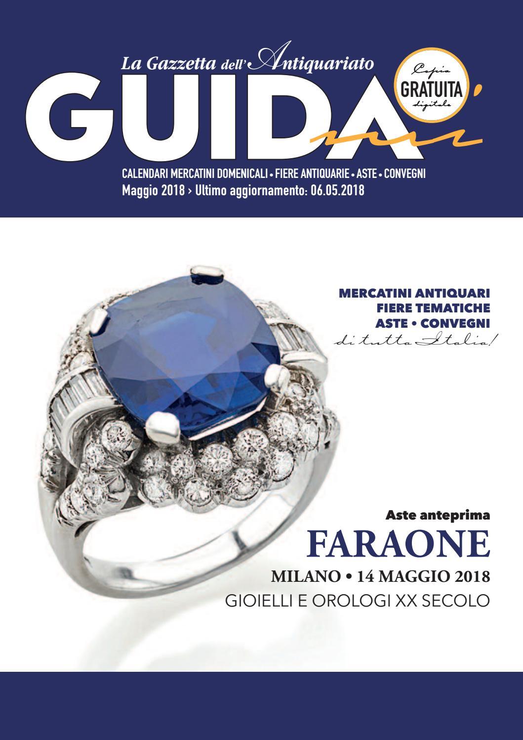Calendario Mercatini Antiquariato Puglia.Guidami Maggio 2018 Mercatini By La Gazzetta Dell