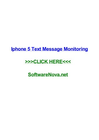 Top 5 Apps to Monitor Text Messages on iPhone