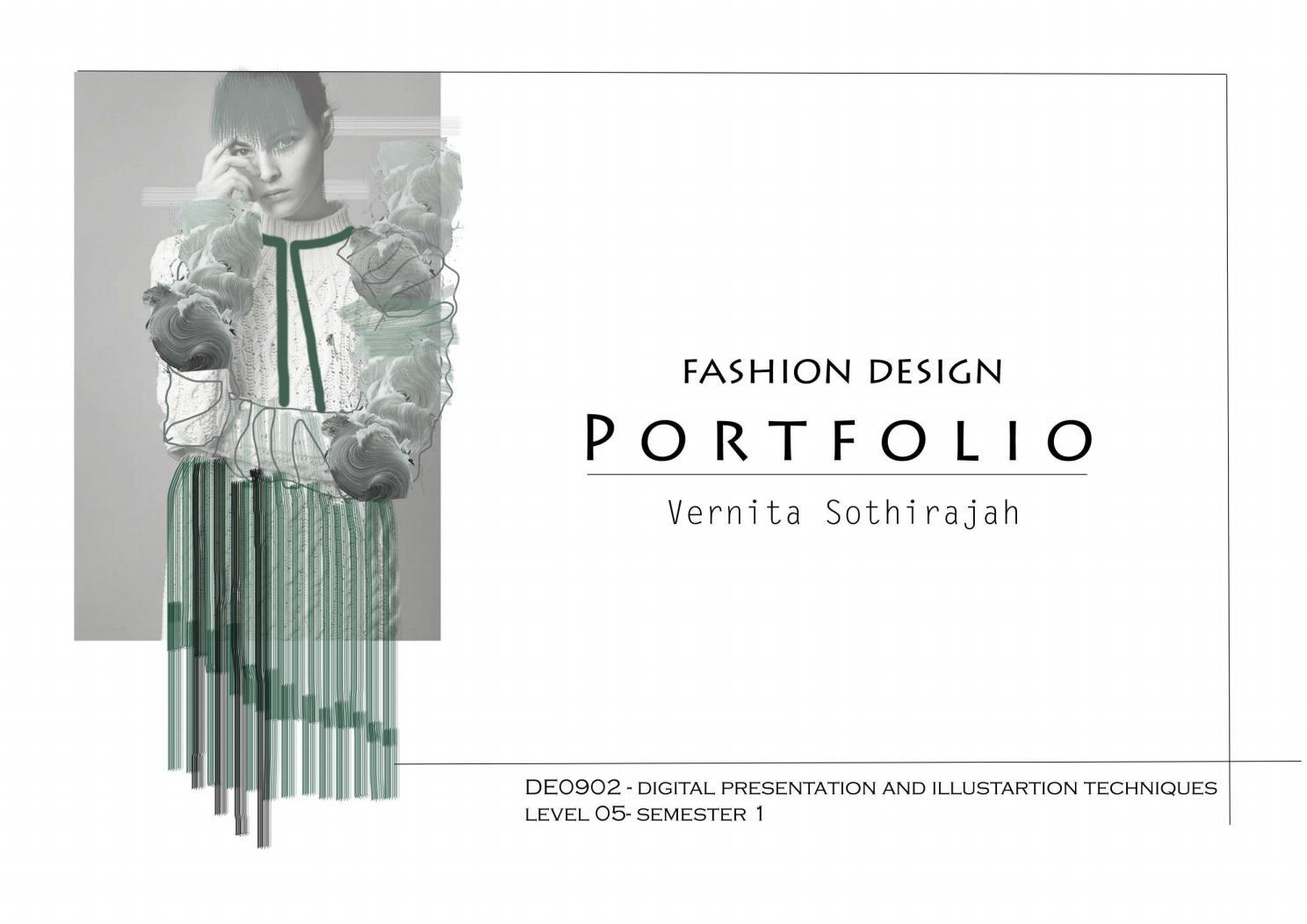 Fashion Design Portfolio By Vernita Shimla Issuu