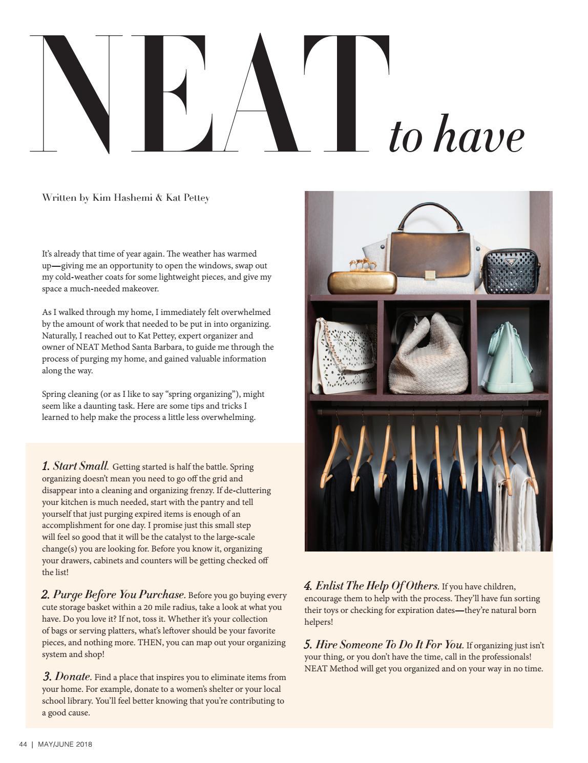 May/June 2018 | Santa Barbara Life & Style Magazine by Santa Babara