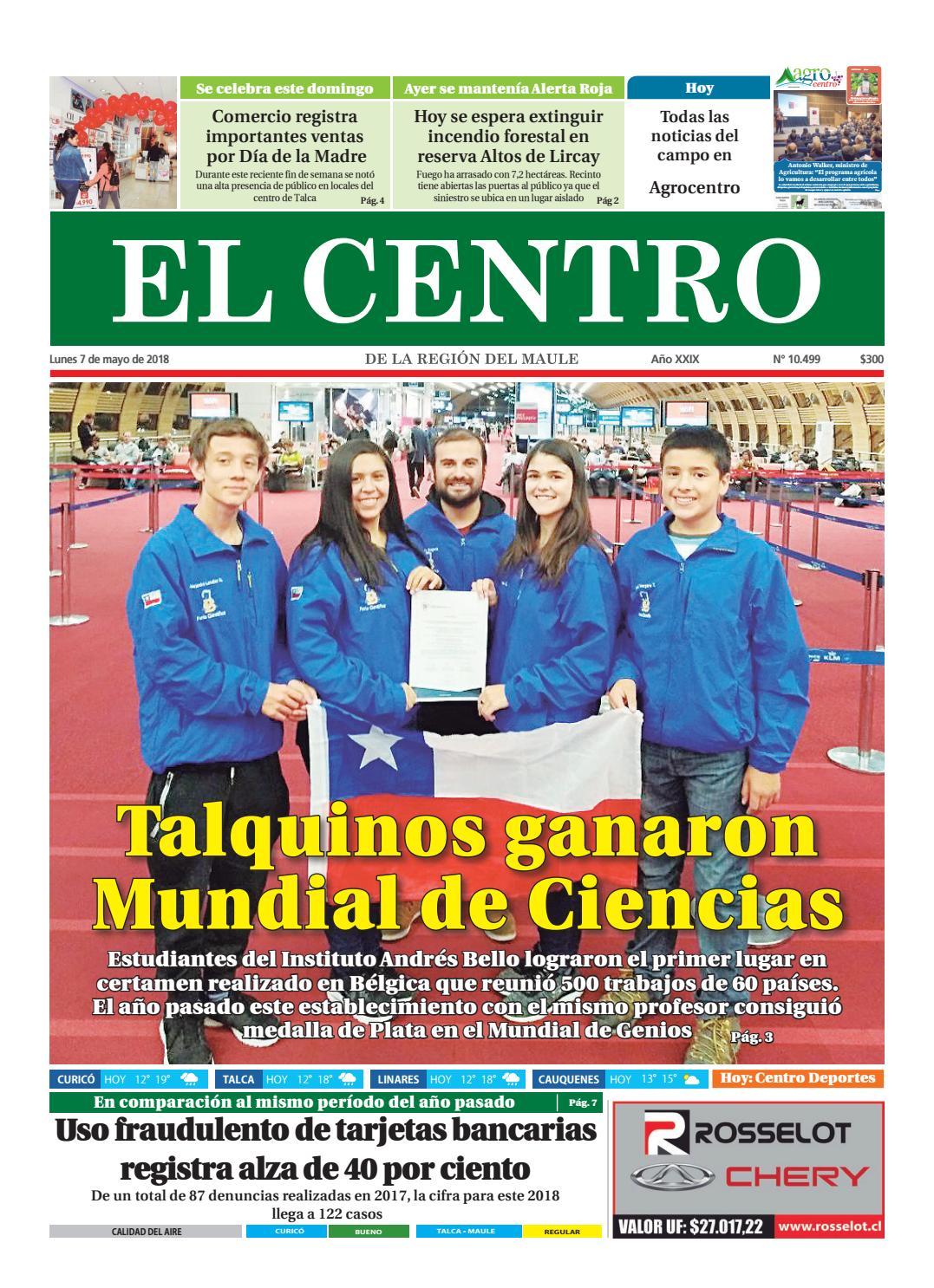 Diario 07-05-2018 by Diario El Centro S.A - issuu 4db948ed56b