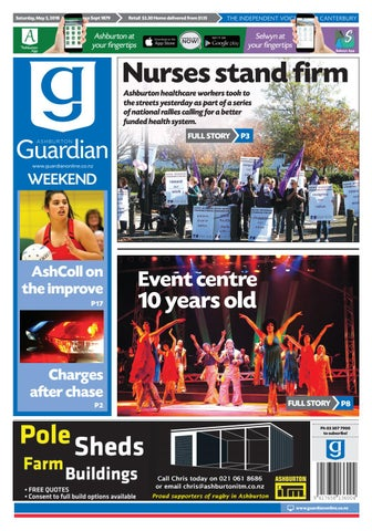 Ag 05 may, 2018 by Ashburton Guardian - issuu 592e4f959b5