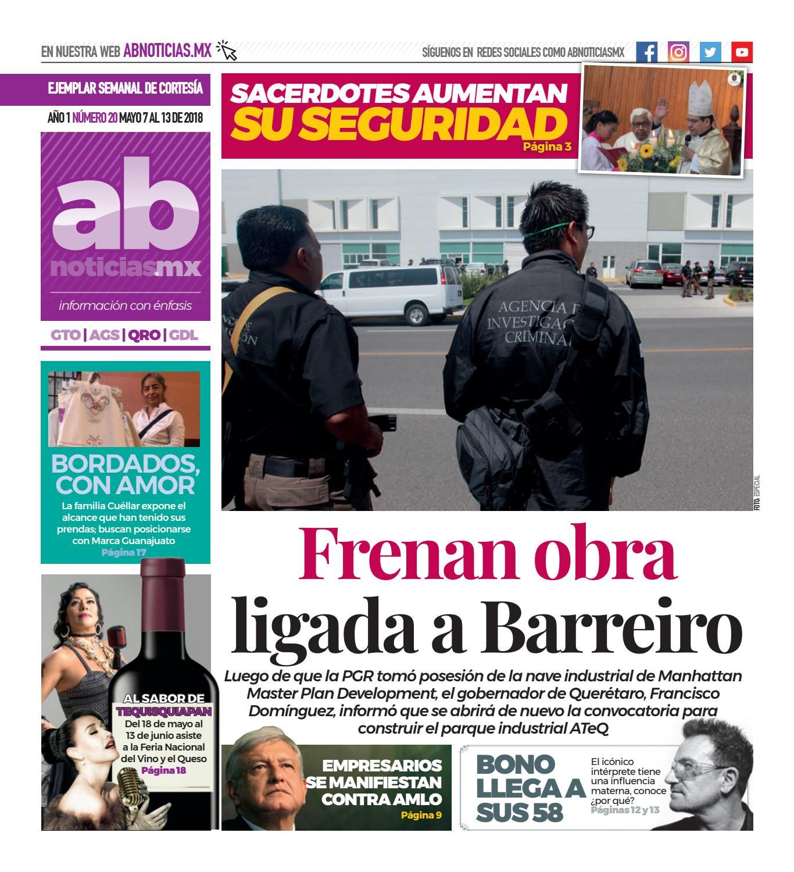 3a6a240588 Querétaro - Ab noticias Año 1 Numero 20 by abnoticias.mx - issuu