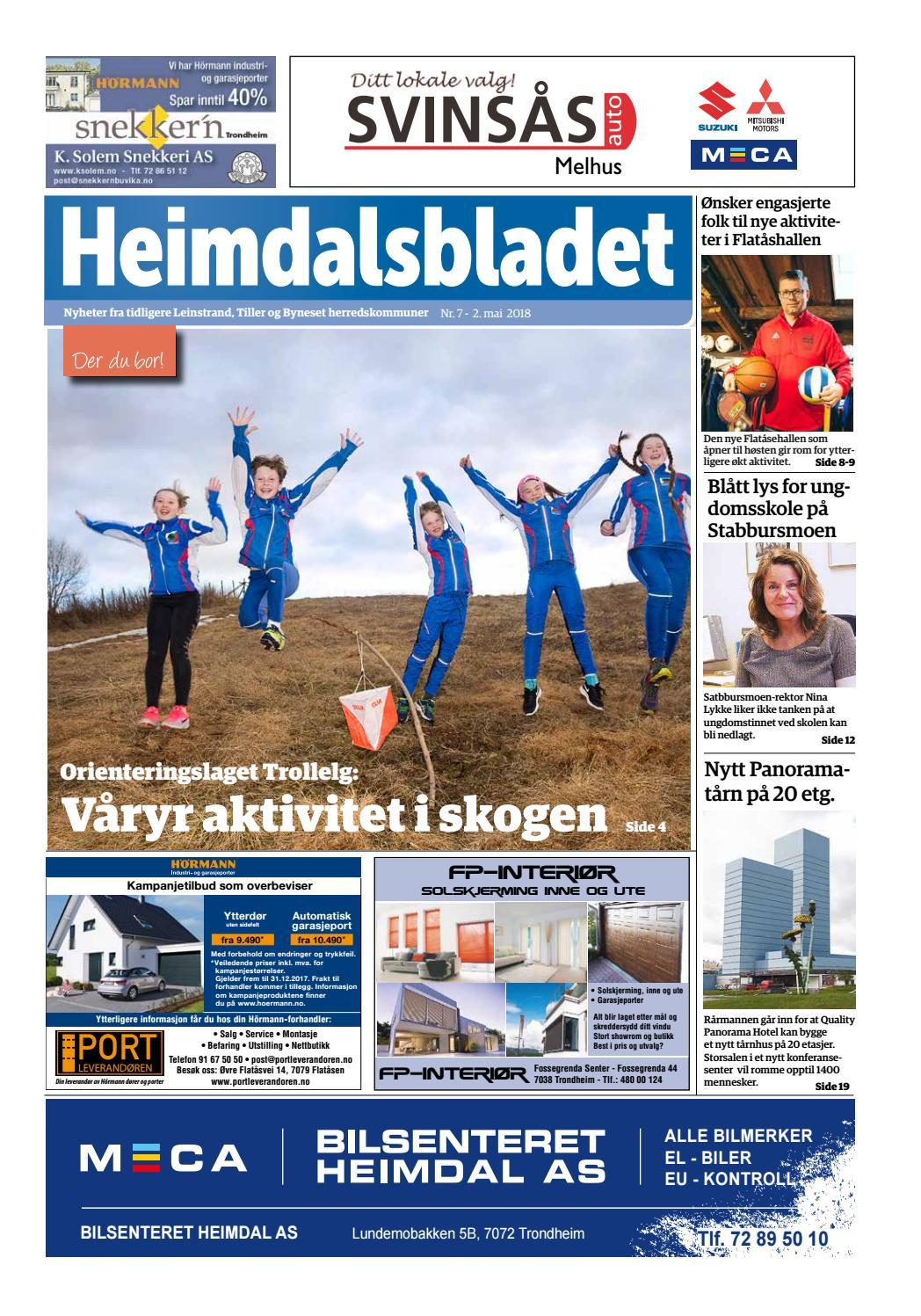 ed72ddf2f Bydelsavisa Heimdalsbladet # 7-2018 by Bydelsavisa Heimdalsbladet ...