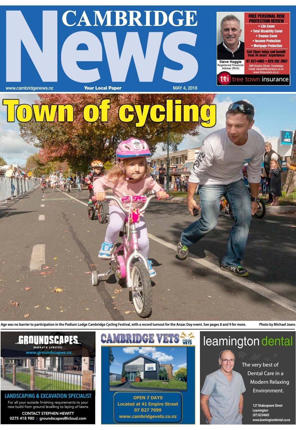 Cambridge News | 5 May 2018 by Cambridge News & Te Awamutu News - issuu