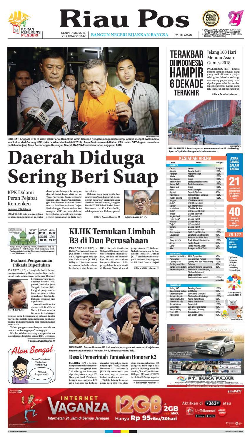 2018 05 07 by Riau Pos - issuu 1c40a1c89a
