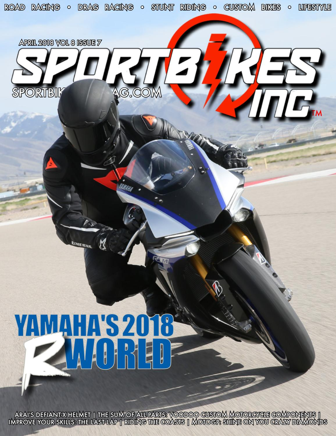 SportBikes Inc Magazine April 2018 by Hard Knocks Motorcycle Entertainment  - issuu cfadf5849d6a