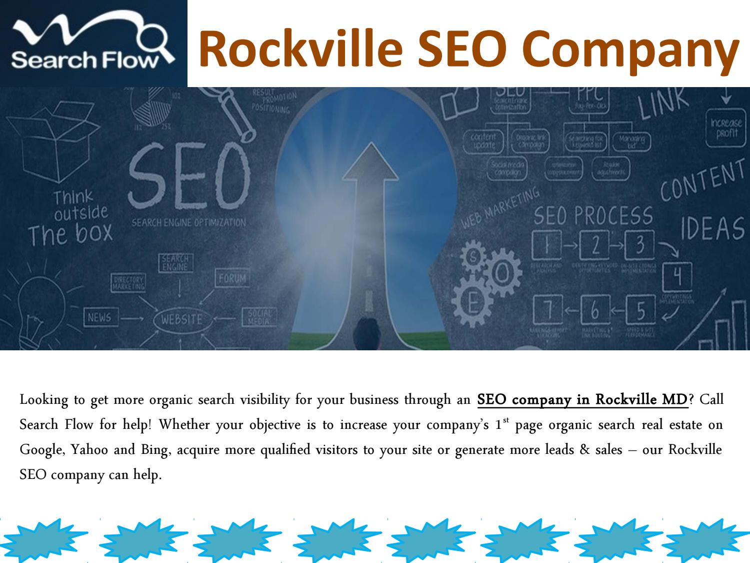 Rockville seo company by Search Flow - issuu