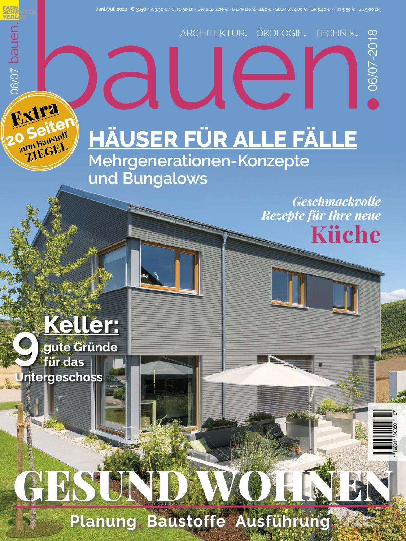 bauen. 6/7-2018 by Fachschriften Verlag - issuu
