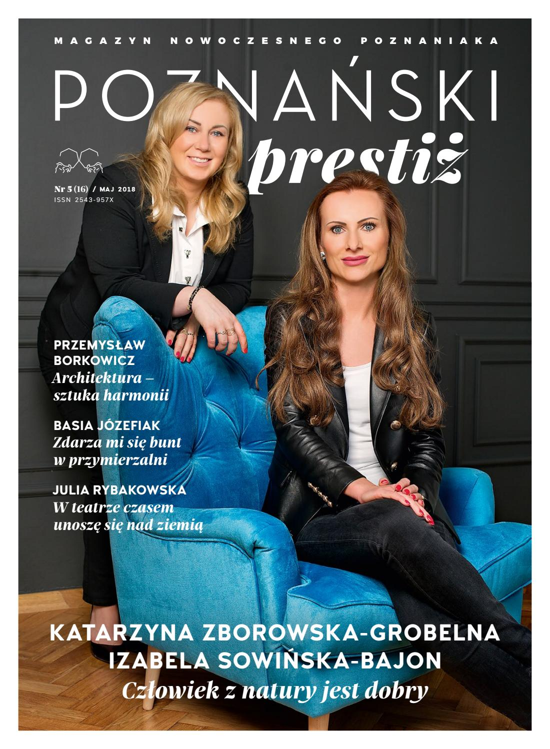 81052b26ab Poznański prestiż maj 2018 by Top Media   Publishing House - issuu