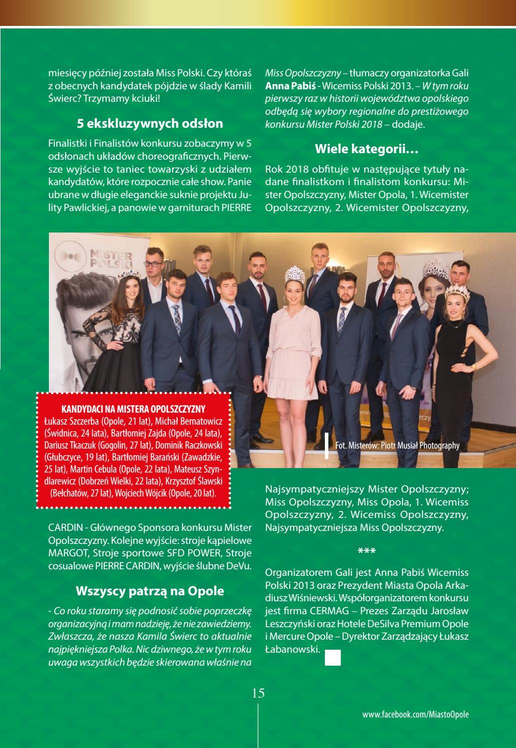 suche nach dem besten neuartiger Stil zarte Farben Opole i kropka nr 5/2018 by Miasto OPOLE - issuu