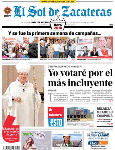 018db70747ca2 El Sol de Zacatecas 7 de mayo 2018 by El Sol de Zacatecas - issuu