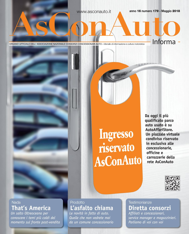 e65e69e6d84c40 AsConAuto Informa Maggio 2018 by Asconauto Informa - issuu